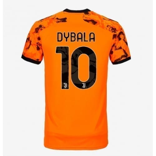 Оранжевая футболка Дибала Ювентус