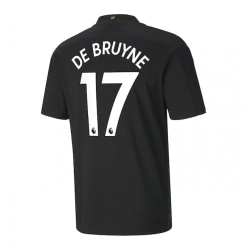 Гостевая футболка Де Брюйне 2020-2021