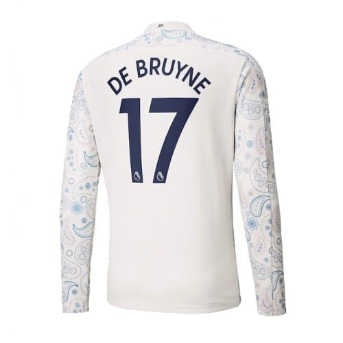 Выездная футболка Манчестер сити Де Брюйне 2020-2021