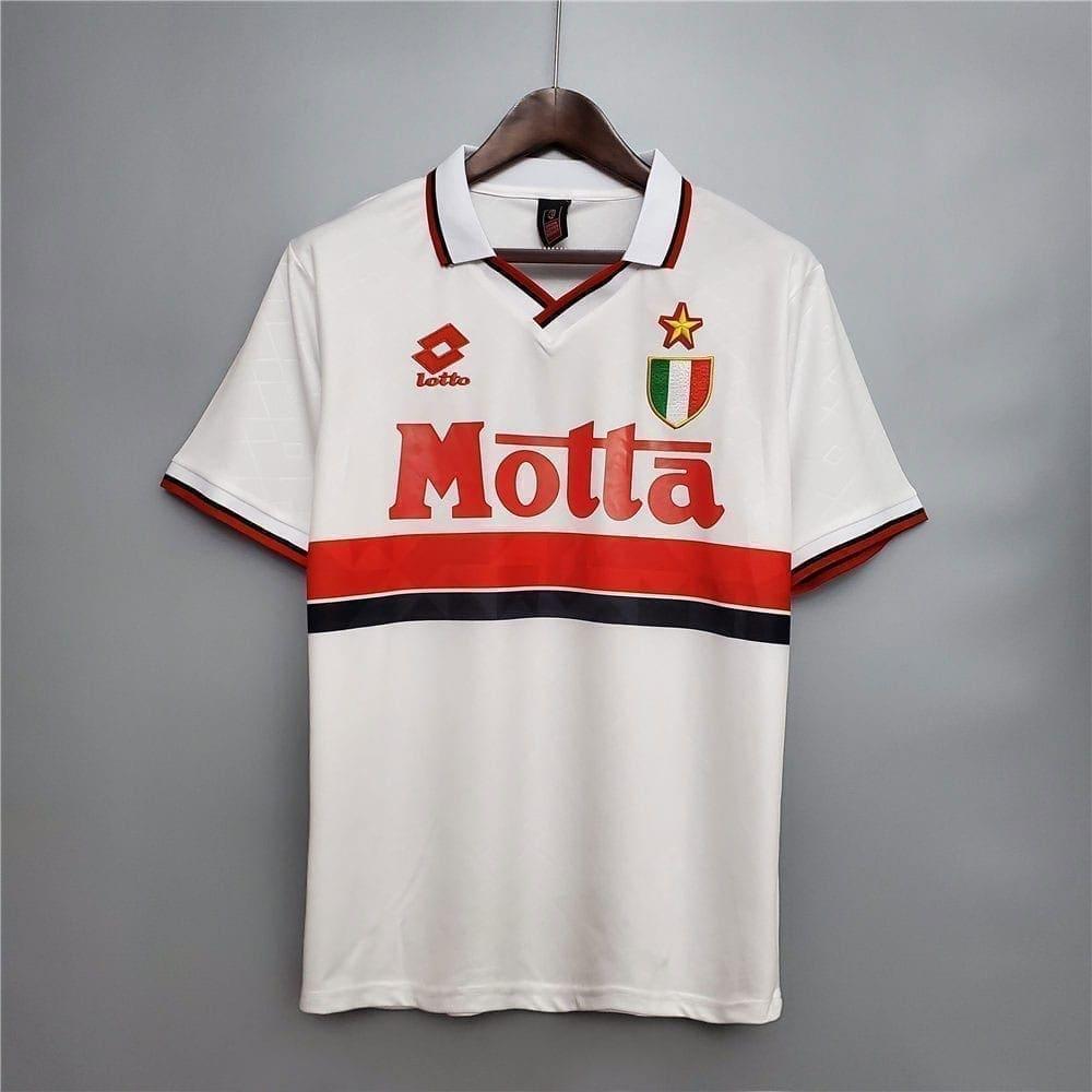 Ретро футболка Милан гостевая 1993-1994