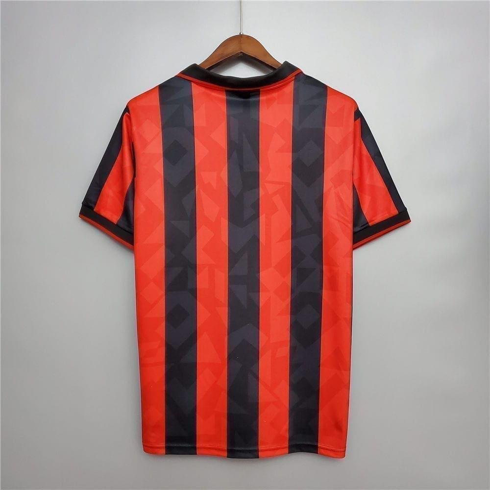 Ретро футболка Милан домашняя 1993-1994