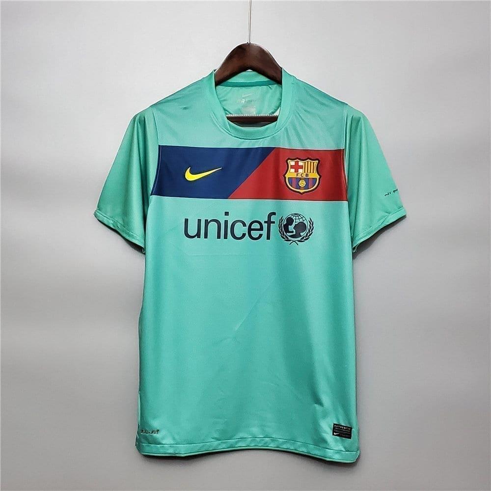 Ретро футболка Барселона на выезде 2010-2011