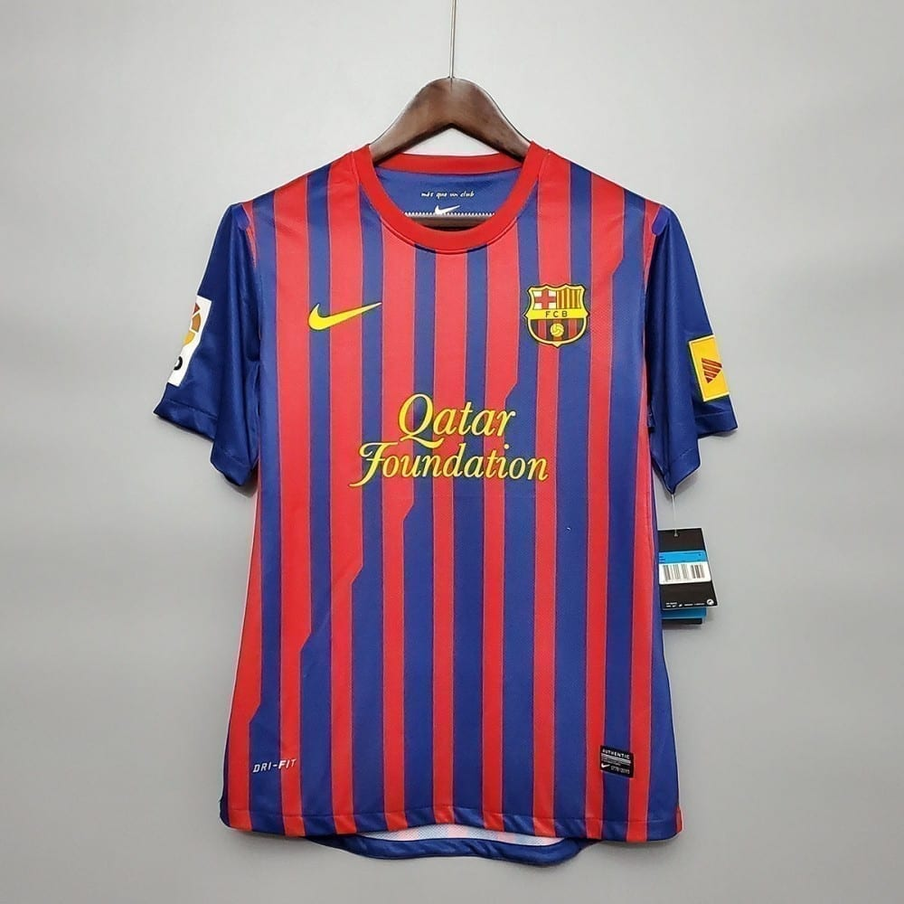 Ретро футболка Барселона домашняя 2011-2012