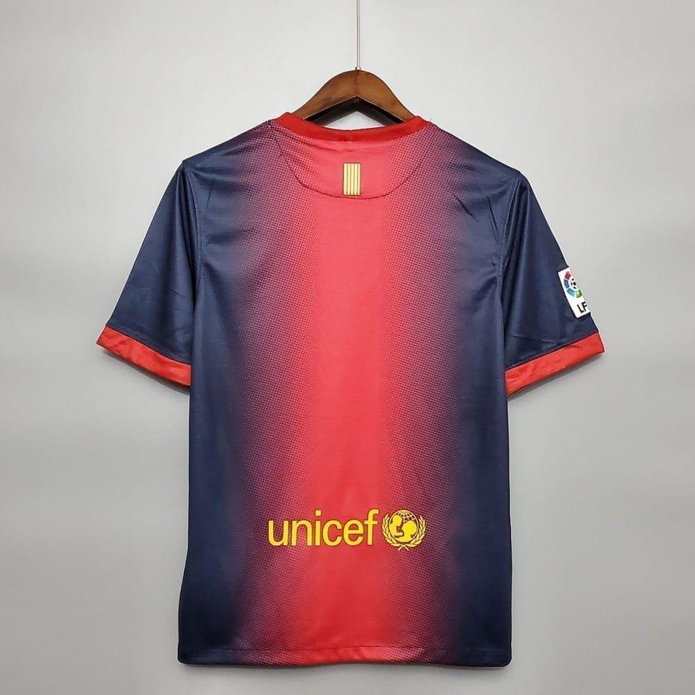 Ретро футболка Барселона домашняя 2012-2013