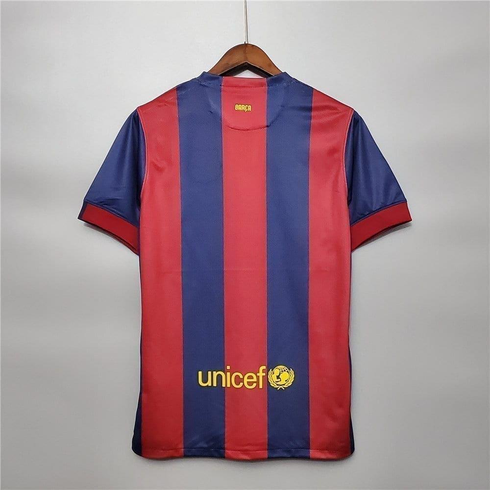 Ретро футболка Барселона домашняя 2014-2015
