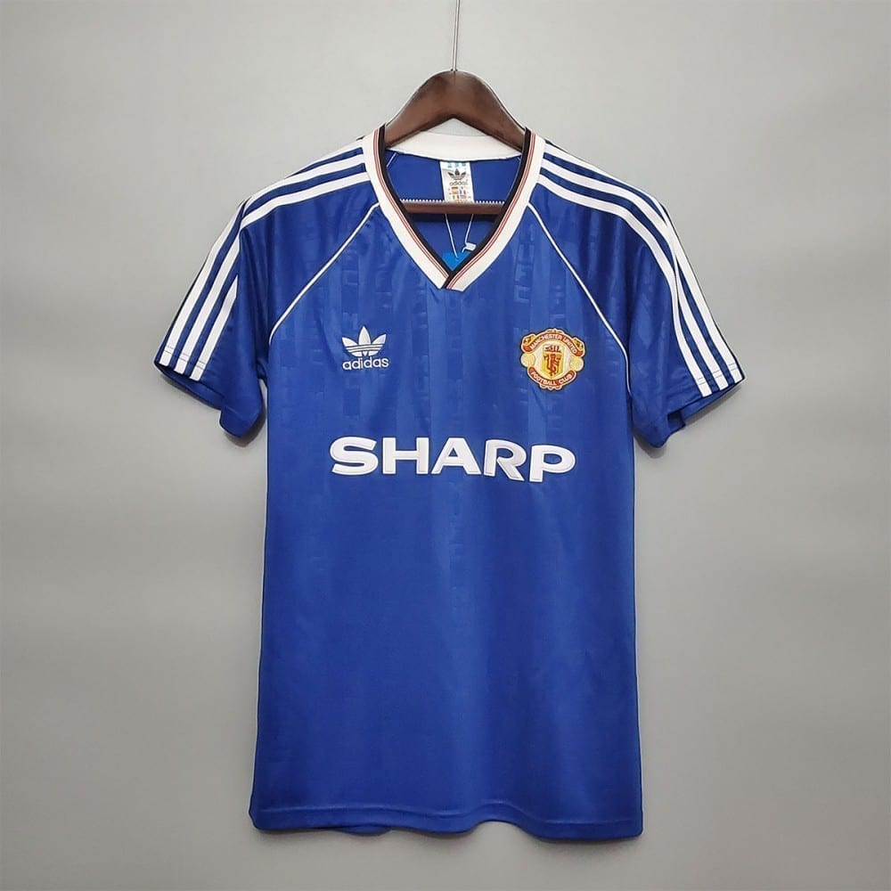 Ретро третья футболка Манчестер Юнайтед 1988-1990