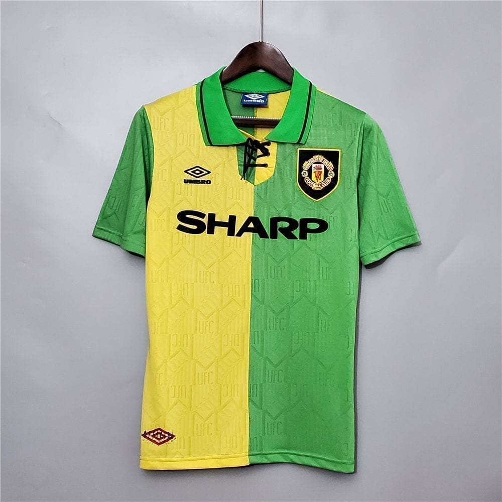 Ретро третья футболка Манчестер Юнайтед 1992-1994