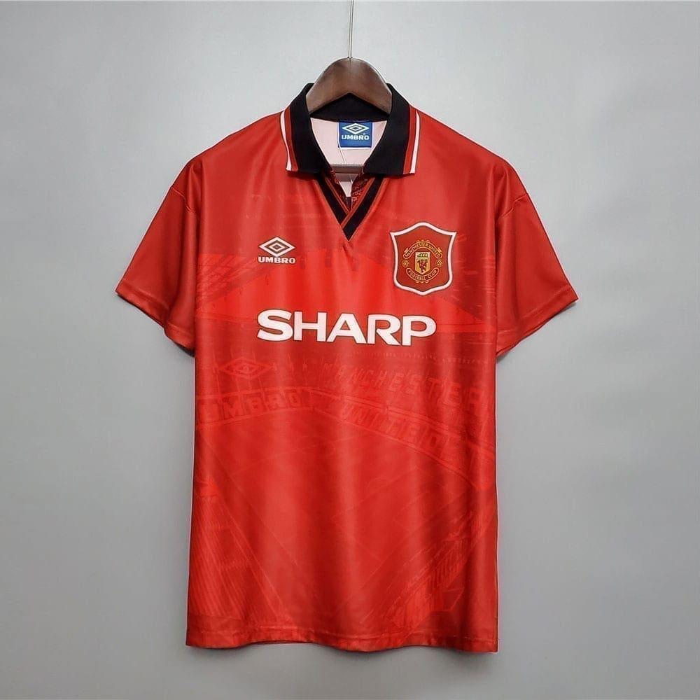 Ретро футболка Манчестер Юнайтед домашняя 1994-1996