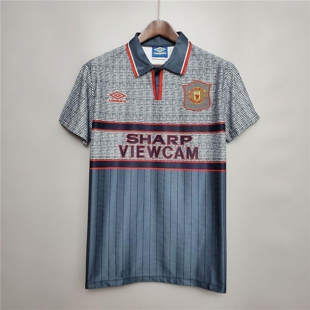 Ретро футболка Манчестер Юнайтед гостевая 1995-1996