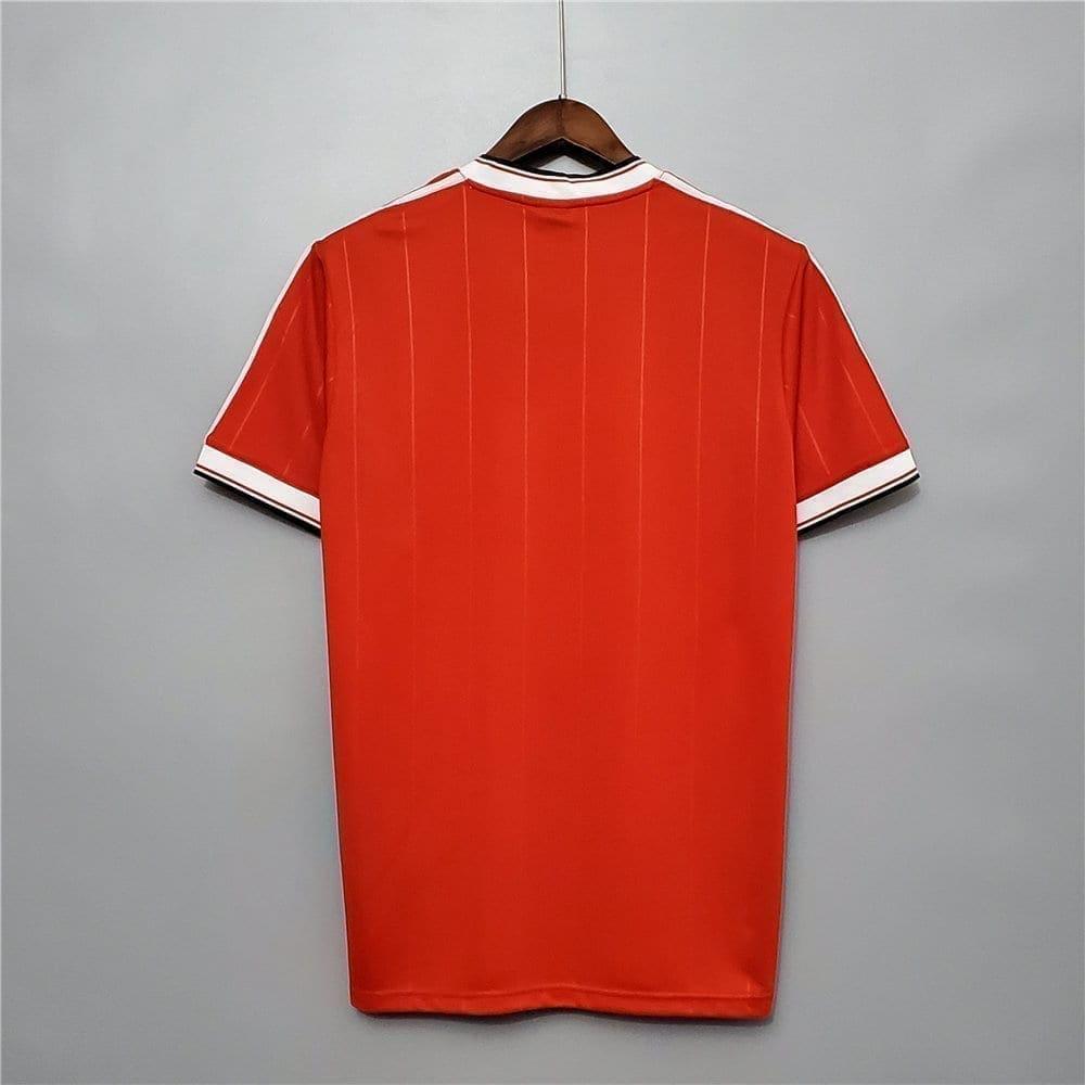 Ретро футболка Манчестер Юнайтед домашняя 1983-1984