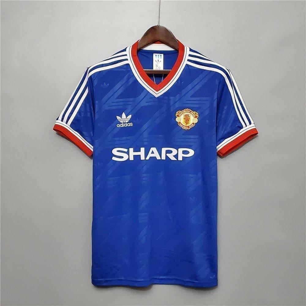 Ретро третья футболка Манчестер Юнайтед 1986-1988