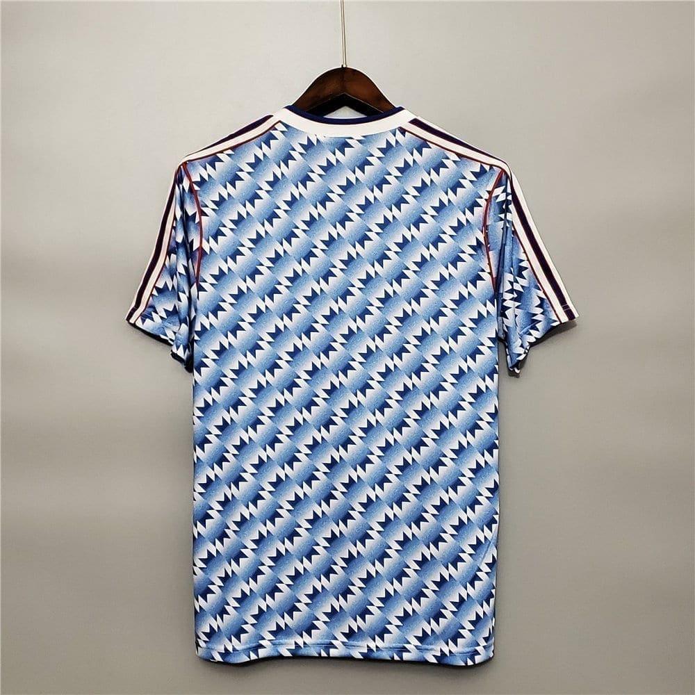 Ретро футболка Манчестер Юнайтед гостевая 1990-1992