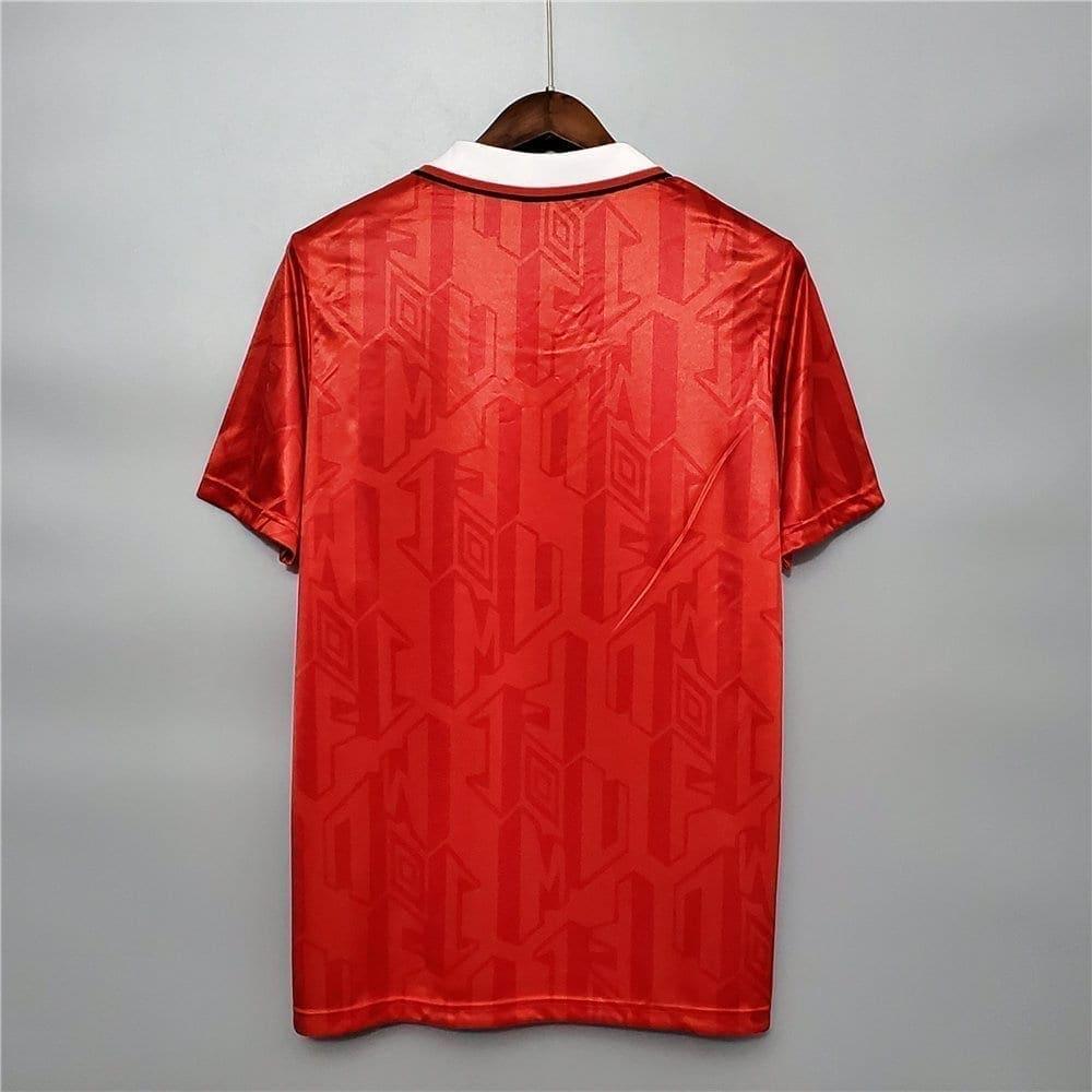 Ретро футболка Манчестер Юнайтед домашняя 1992-1994