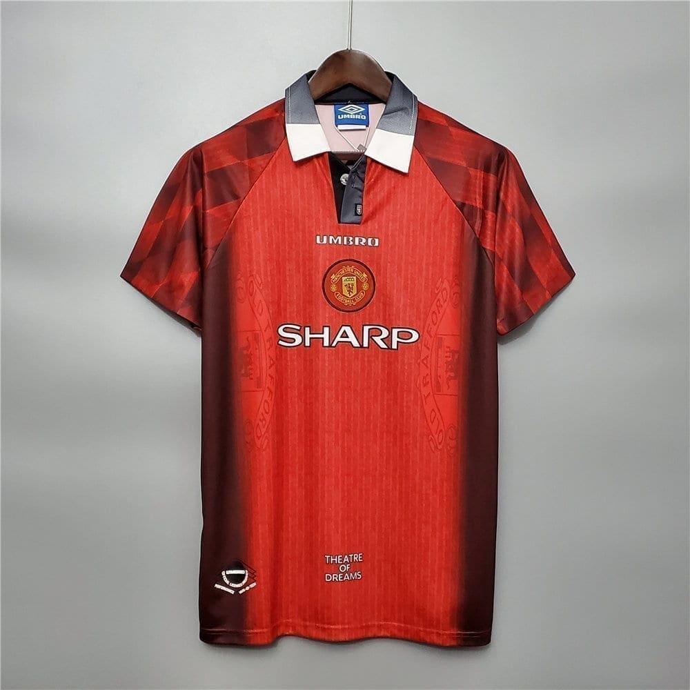 Ретро футболка Манчестер Юнайтед домашняя 1996-1997