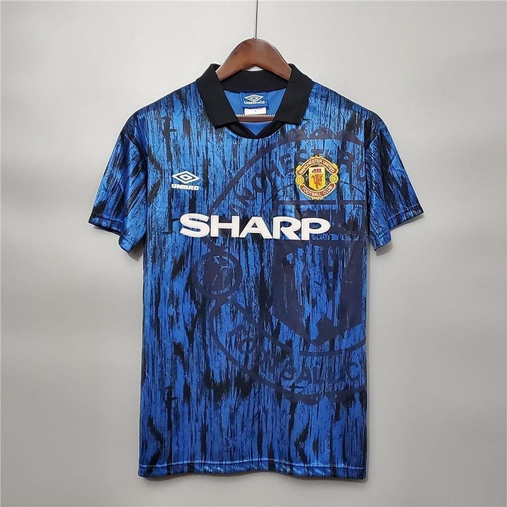 Ретро футболка Манчестер Юнайтед гостевая 1992-1993