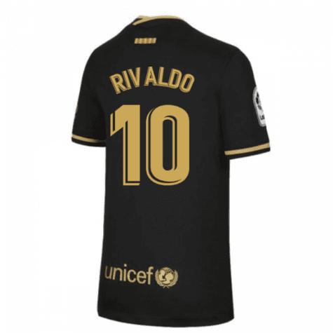 Гостевая футболка Барселона Ривалдо
