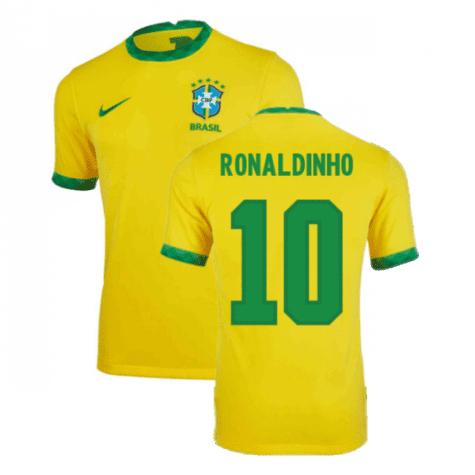 Футболка Рональдиньо Бразилия купить