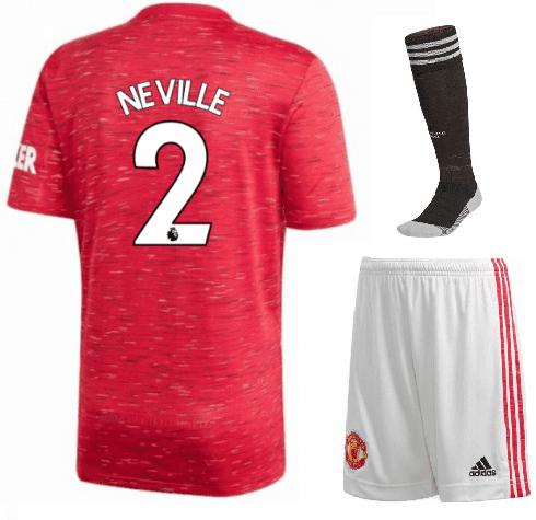 Футбольная форма Гари Невилл Манчестер Юнайтед