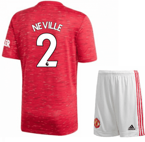 Футбольная форма Гари Невилл