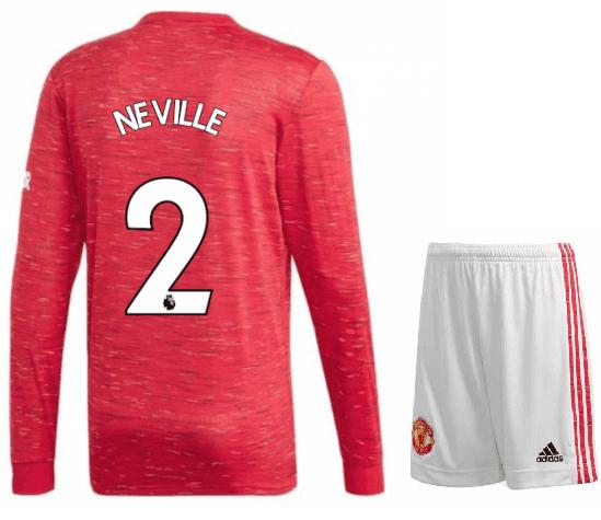 Футбольная форма Gary Neville