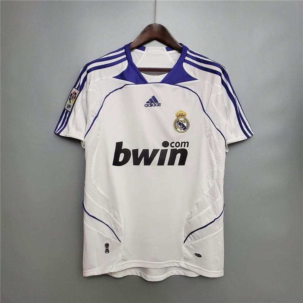 Ретро футболка Реал Мадрид домашняя 2007-2008