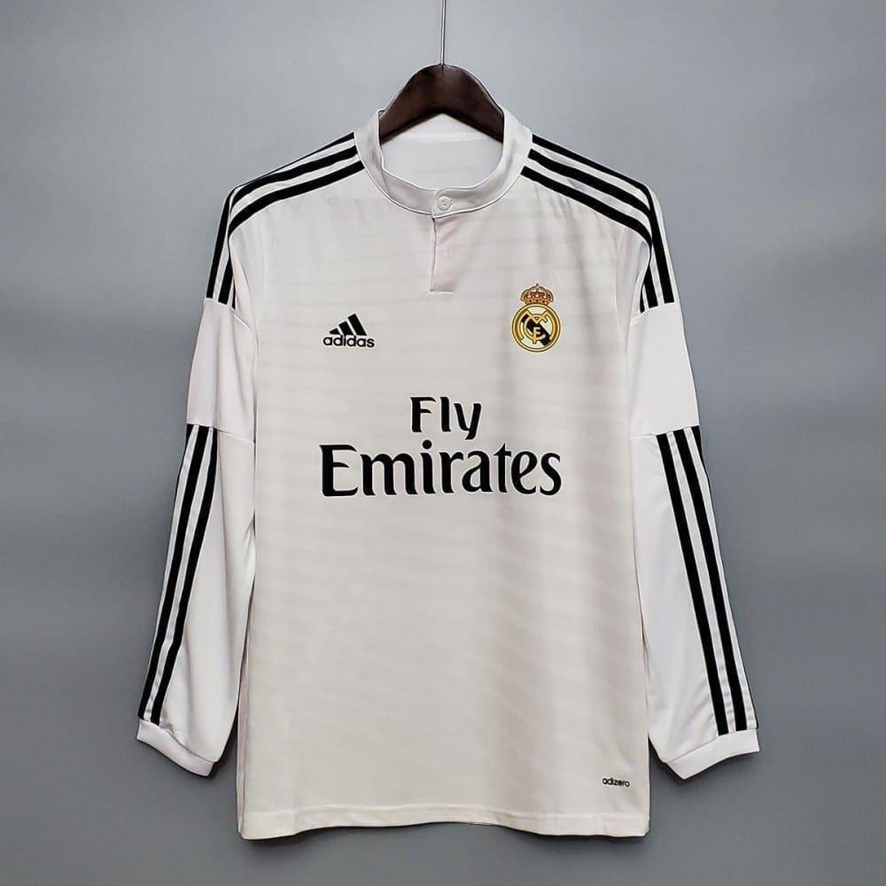 Ретро футболка Реал Мадрид 2014-2015 Длинный рукав