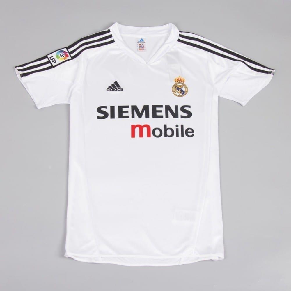 Ретро футболка Реал Мадрид домашняя 2004-2005