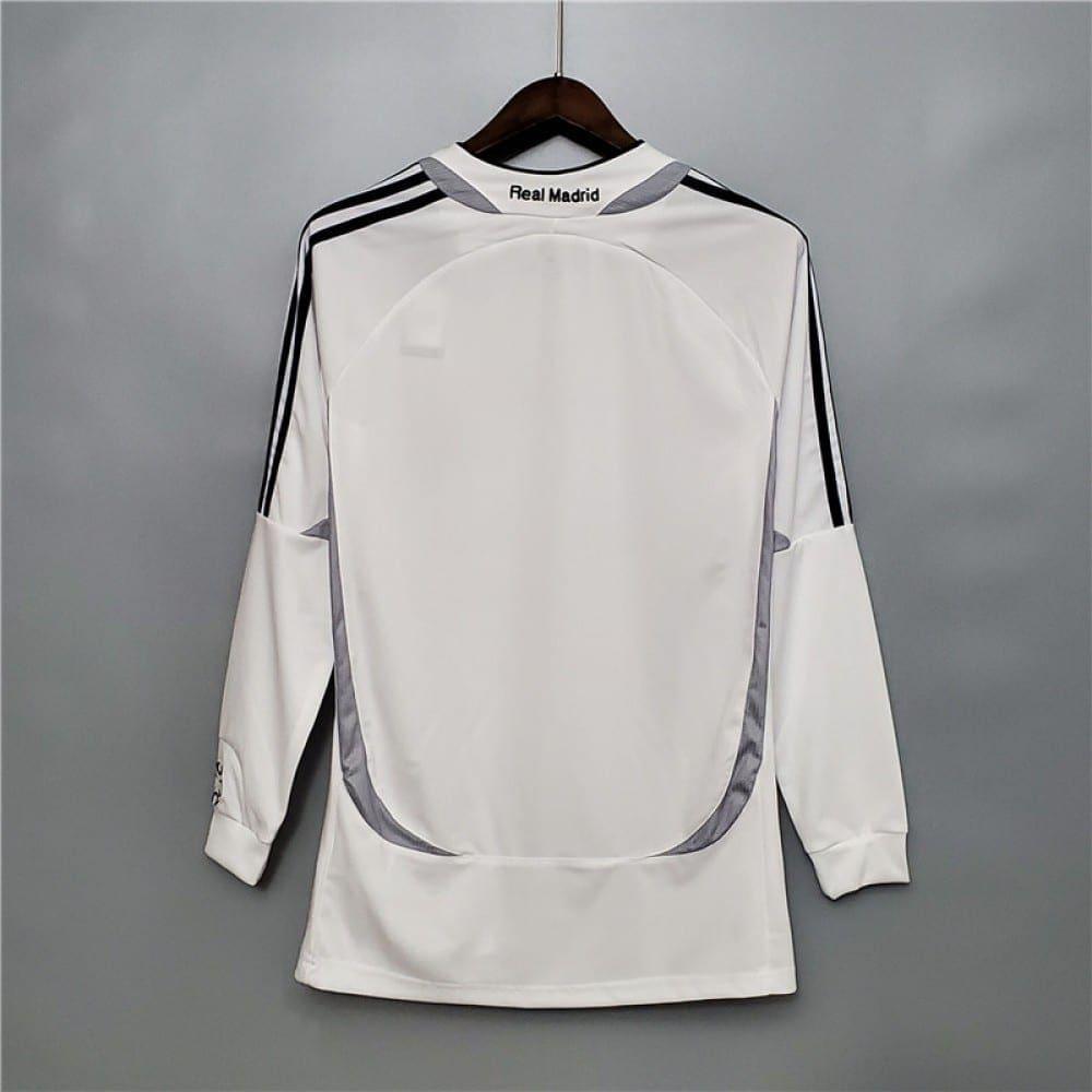 Ретро футболка Реал Мадрид 2006-2007 Длинный рукав