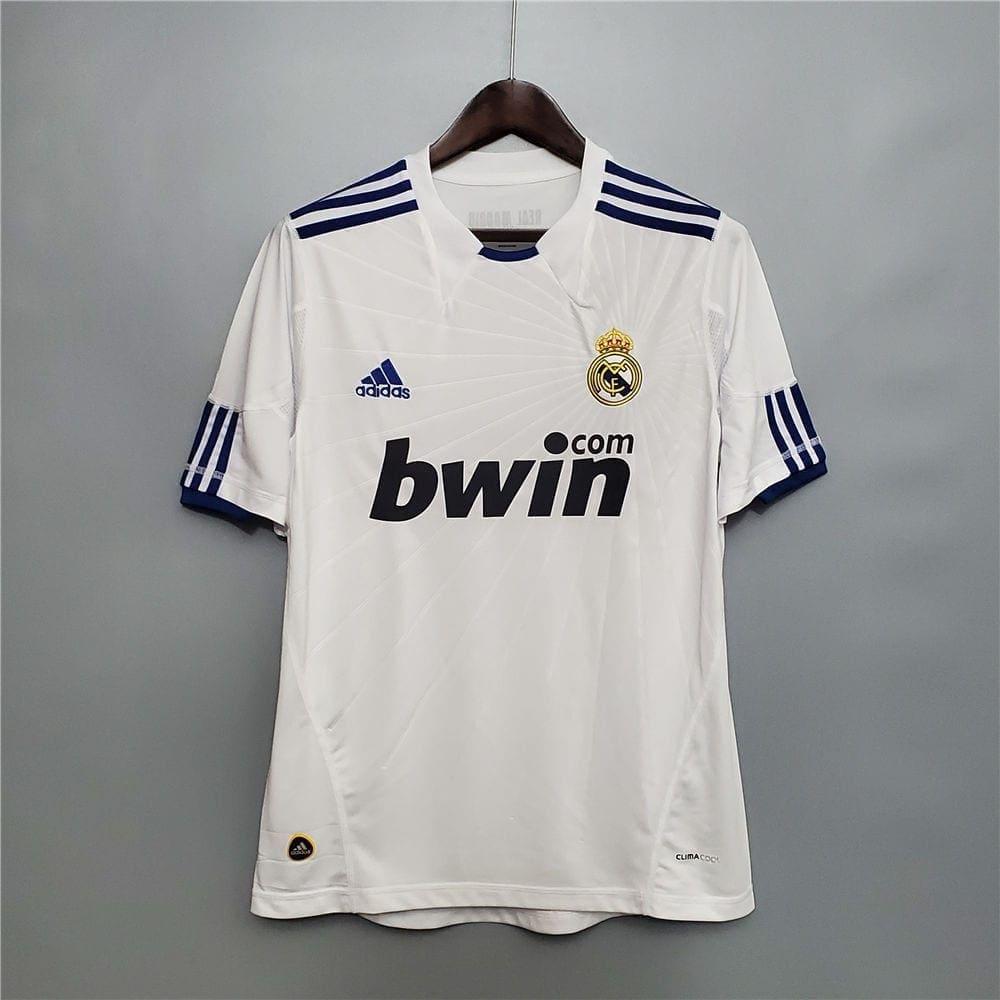 Ретро футболка Реал Мадрид домашняя 2010-2011