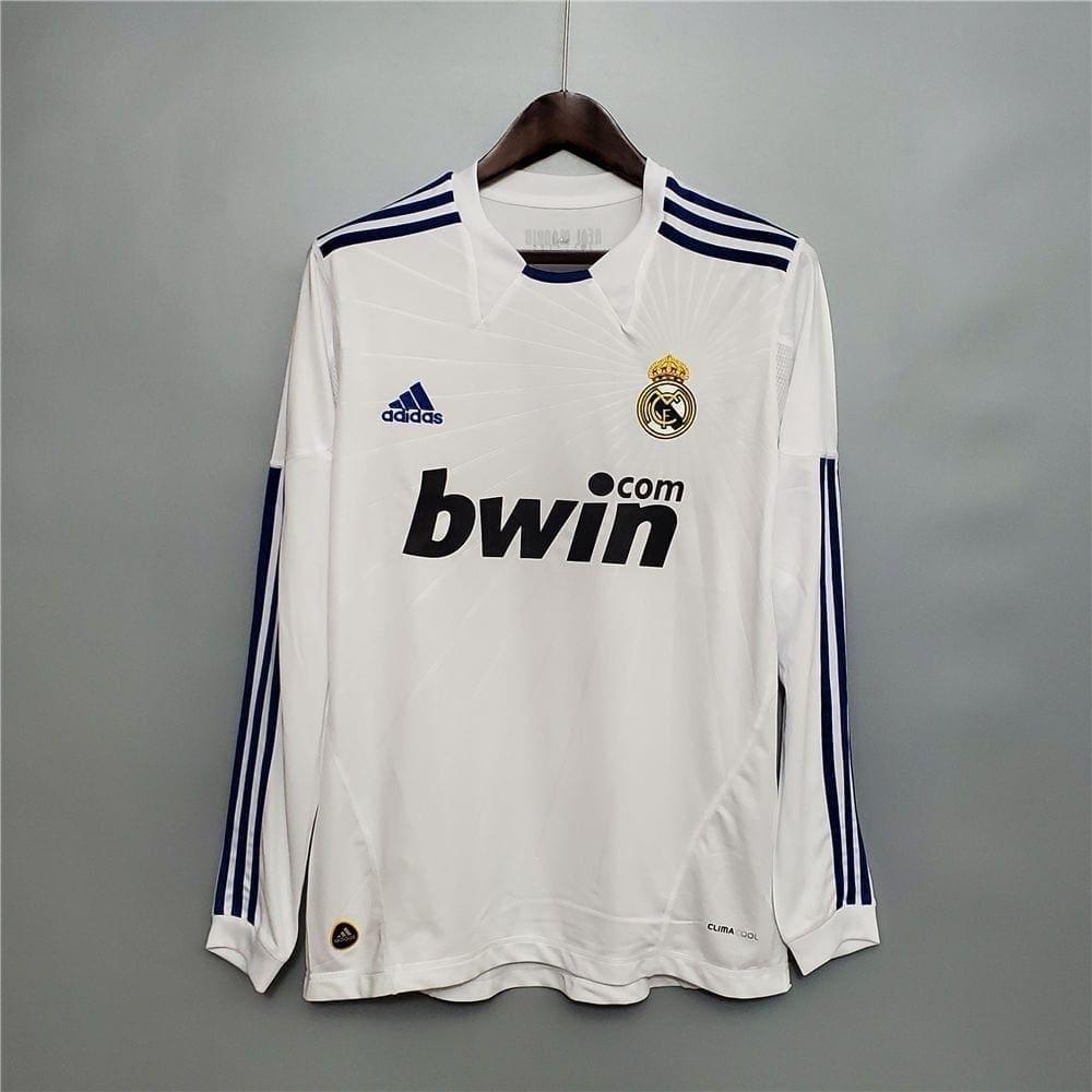 Ретро футболка Реал Мадрид 2010-2011 Длинный рукав
