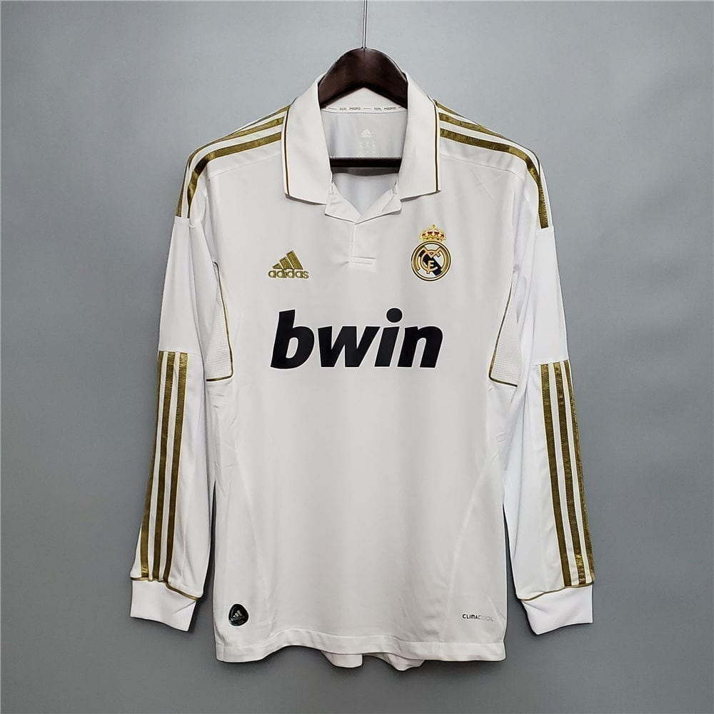 Ретро футболка Реал Мадрид 2011-2012 Длинный рукав