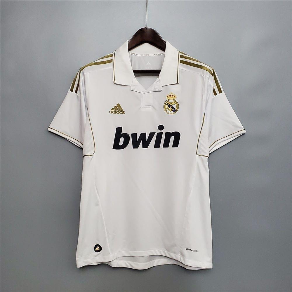 Ретро футболка Реал Мадрид домашняя 2011-2012