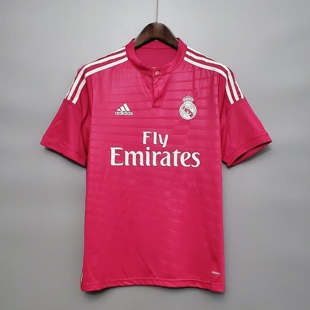 Ретро футболка Реал Мадрид гостевая 2014-2015