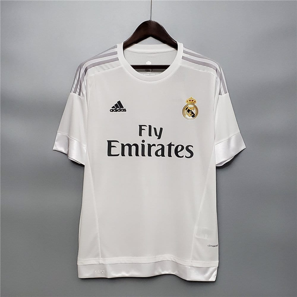 Ретро футболка Реал Мадрид домашняя 2015-2016