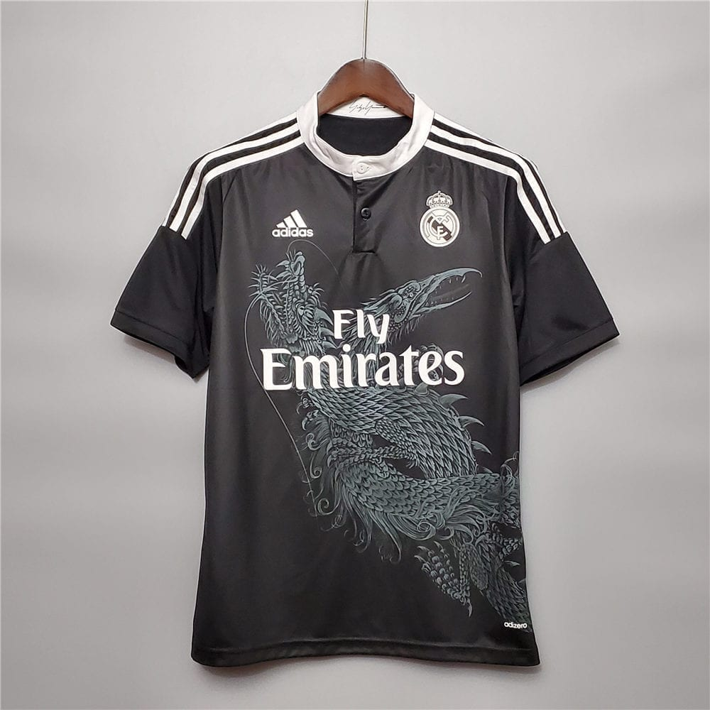 Ретро третья футболка Реал Мадрид 2014-2015