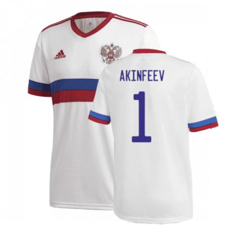 Гостевая футболка Акинфеев Россия Евро 2020
