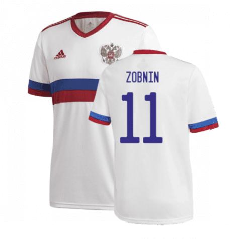 Гостевая футболка Зобнин Россия Евро 2020