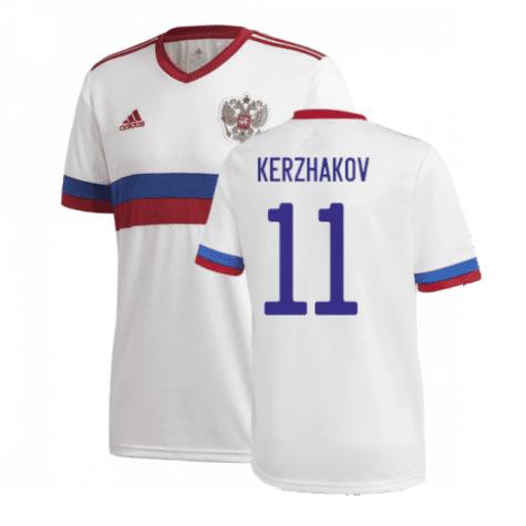 Гостевая футболка Кержаков Россия Евро 2020