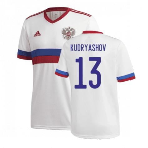Гостевая футболка Кудряшов Россия Евро 2020