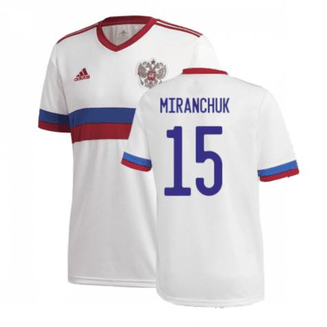 Гостевая футболка Миранчук Россия Евро 2020