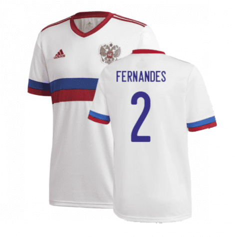 Гостевая футболка Фернандес Россия Евро 2020