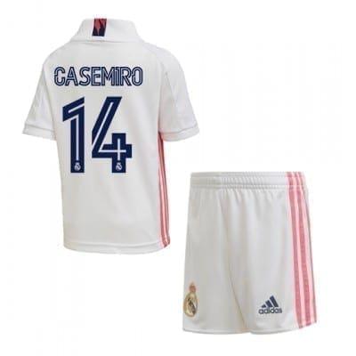 Детская форма Каземиро 14 Реал Мадрид 2020-2021