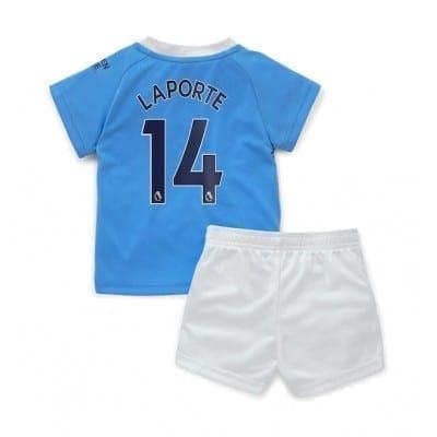 Детская форма Манчестер Сити 2020-2021 Ляпорт Купить
