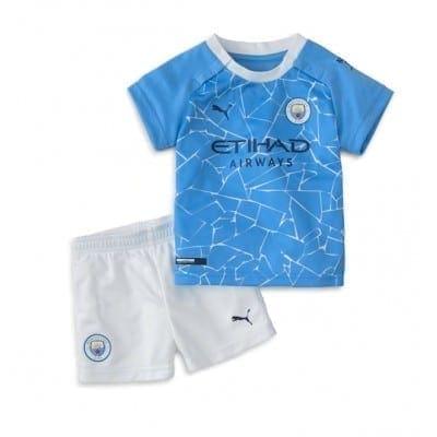 Детская форма Манчестер Сити 2020-2021 Махрез Купить