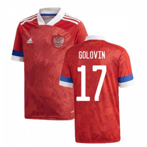 Футболка Сборной России Головин 17 Евро 2020