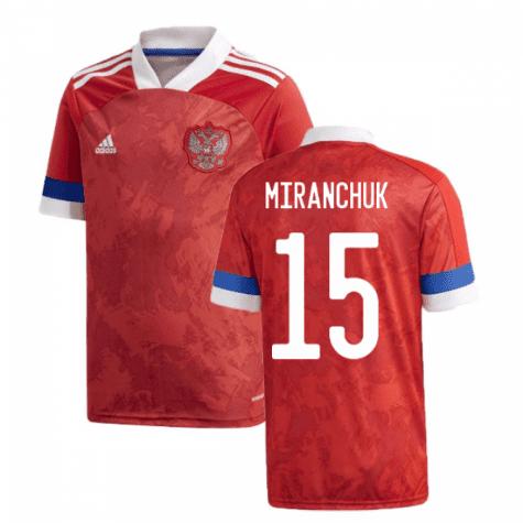 Футболка Сборной России Миранчук 15 Евро 2020