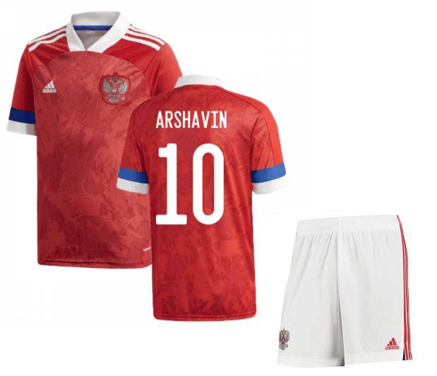 Футбольная форма России Аршавин 10 Евро 2020