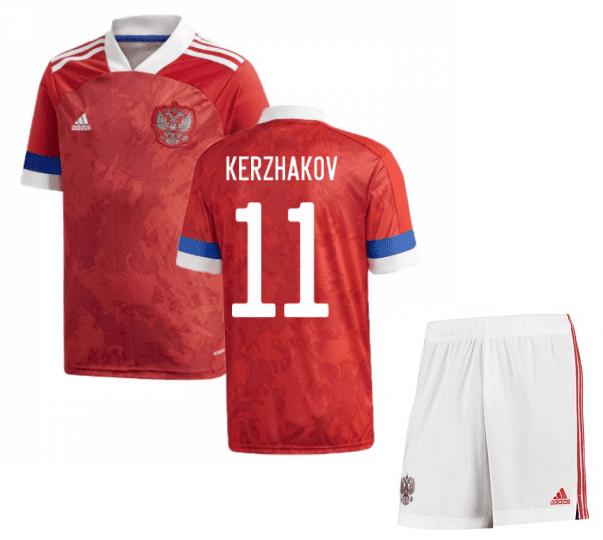 Футбольная форма России Кержаков 11 Евро 2020