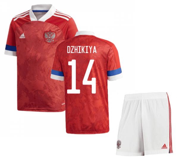 Футбольная форма России Джикия 14 Евро 2020