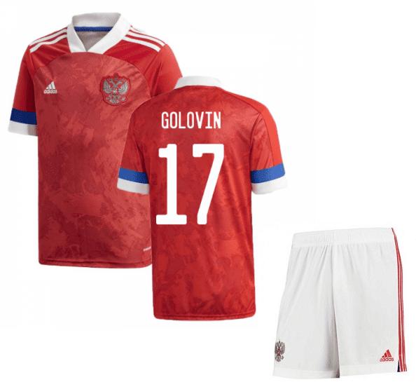 Футбольная форма России Головин 17 Евро 2020